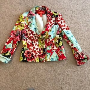 Jackets & Blazers - Colorful Fully Lined Blazer